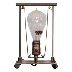 Early 1900s Modernist Lamp