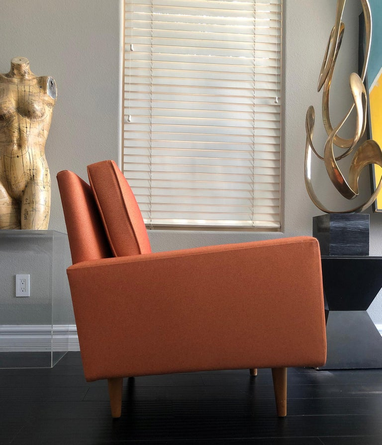 American Early 1950s Florence Knoll Lounge Chair For Sale