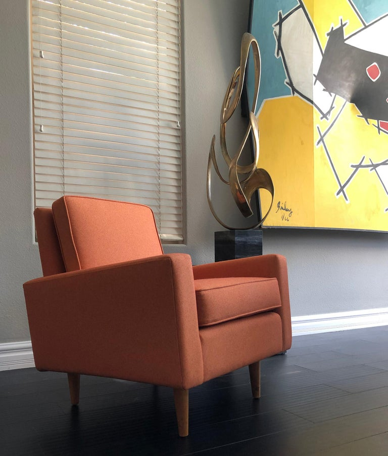 Early 1950s Florence Knoll Lounge Chair In Good Condition For Sale In Las Vegas, NV