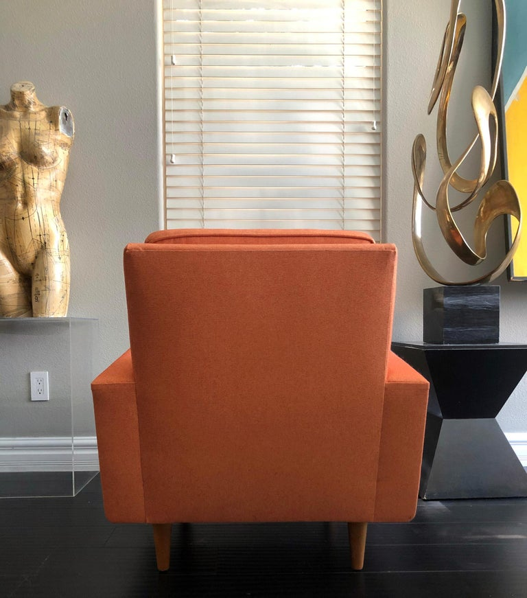 Early 1950s Florence Knoll Lounge Chair For Sale 1