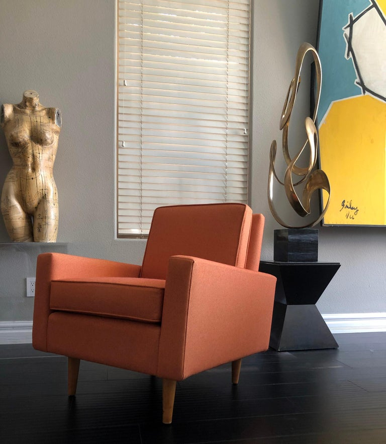 Early 1950s Florence Knoll Lounge Chair For Sale 2