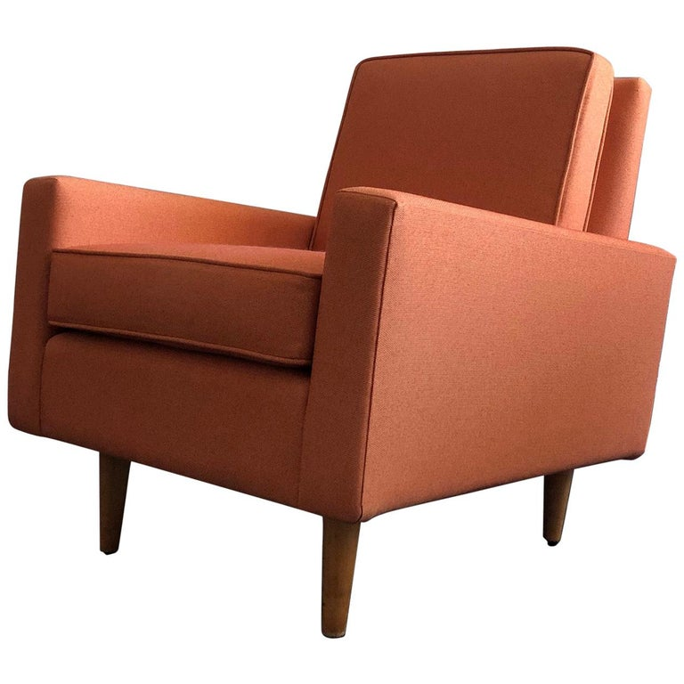 Early 1950s Florence Knoll Lounge Chair For Sale