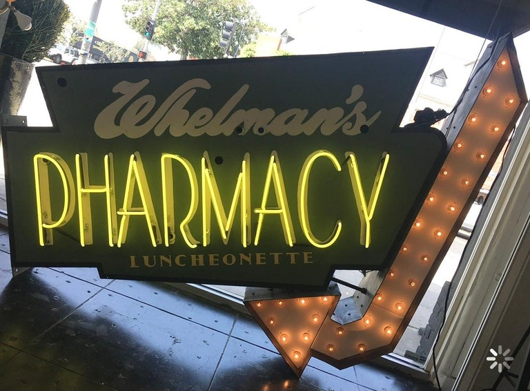 Early 1950s Lighted Neon