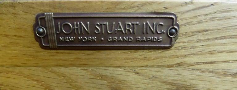 Early 1950s Paul Frankl Desk Vanity for John Stuart Johnson Furniture For Sale 3
