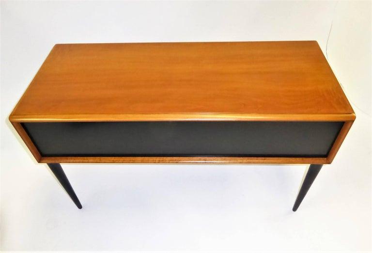 Early 1950s Paul Frankl Desk Vanity for John Stuart Johnson Furniture For Sale 6