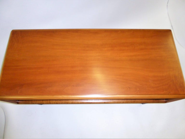 Early 1950s Paul Frankl Desk Vanity for John Stuart Johnson Furniture For Sale 7