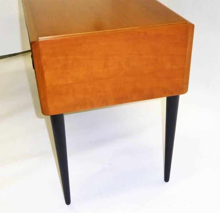 Mid-20th Century Early 1950s Paul Frankl Desk Vanity for John Stuart Johnson Furniture For Sale