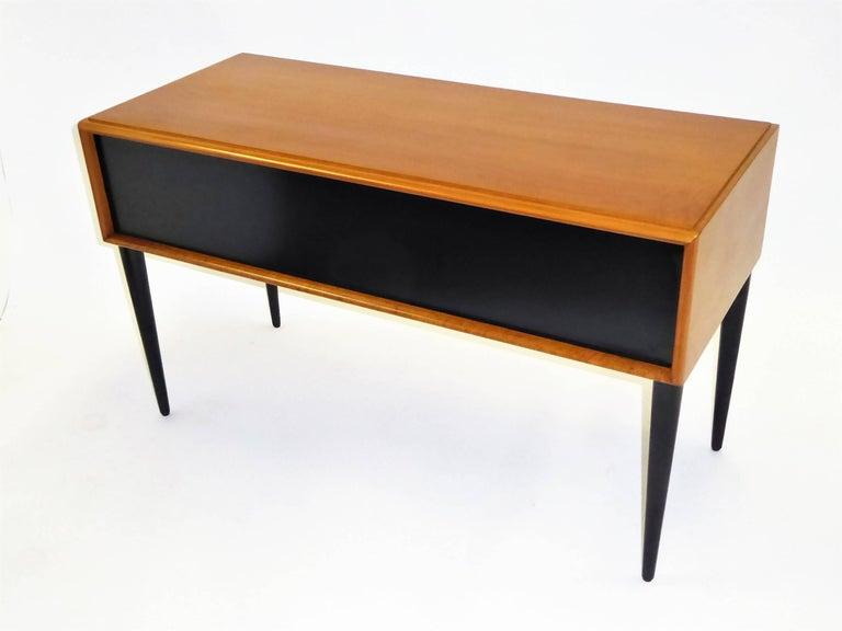 Cherry Early 1950s Paul Frankl Desk Vanity for John Stuart Johnson Furniture For Sale