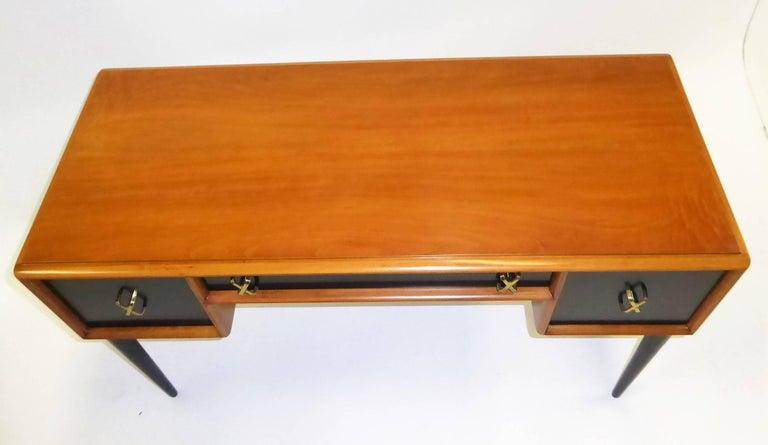 Early 1950s Paul Frankl Desk Vanity for John Stuart Johnson Furniture For Sale 1