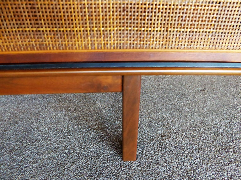 Early 1960s Founders Furniture Florence Knoll Style Walnut Credenza For Sale 12