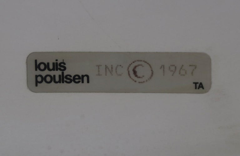 Early 1967 Poul Henningsen 4.5/3 Copper Sconces for Louis Poulsen For Sale 1