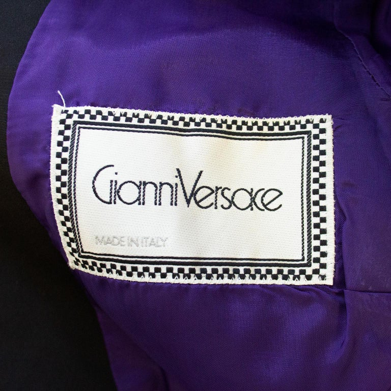 Early 1990s Gianni Versace Baroque Colour Block Tuxedo Jacket For Sale 1