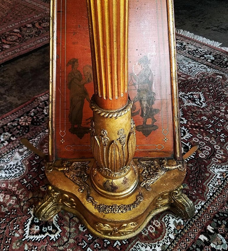 Mid 19th Century T. Dodd & Sons London Harp For Sale 1