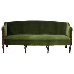 Early 19th Century English Eight-Legged Regency Sofa