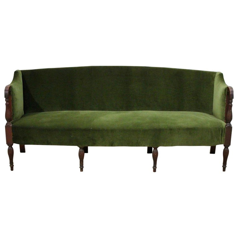 Early 19th Century English Eight-Legged Regency Sofa, 1820, Brownrigg