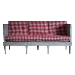Early 19th Century Swedish Gustavian Bench