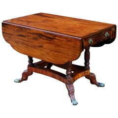 Early 19th Century American Federal New York Mahogany Drop-Leaf Table