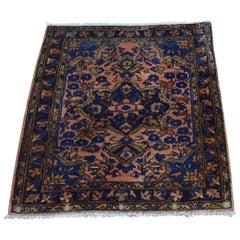 "Early 20th Century Antique Persian Mohajeran Sarouk Rug - 2'1"" x 2'7"""