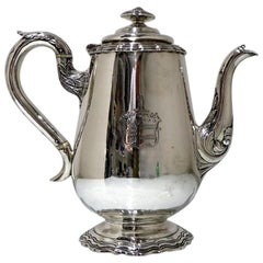 Early 19th Century Antique William IV Sterling Silver Coffee Pot London 1834 Mic