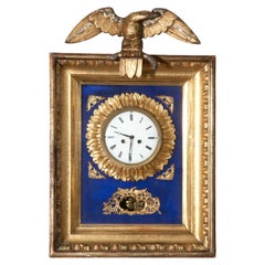 Early 19th Century Austrian Biedermeier Wall Clock