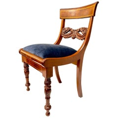 Early 19th Century Baltic Neoclassical Side Chair