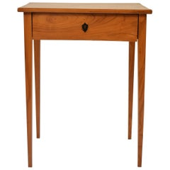 Early 19th Century Biedermeier Ash Side Table
