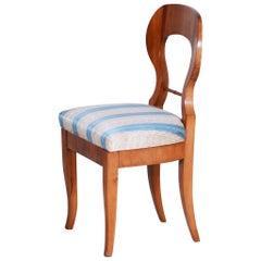 Early 19th Century Biedermeier Cherry-Tree Austrian Side Chair, 1820s