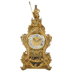 Metal Mantel Clocks