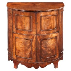 Early 19th Century Bow-Front Commode