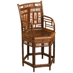 Early 19th Century 'Brighton Pavilion' Bamboo Armchair