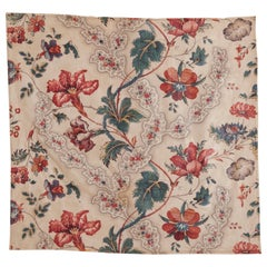 Early 19th Century British Printed Chintz Cotton Textile