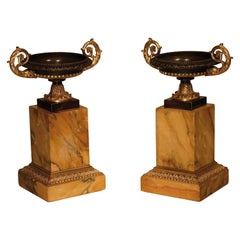 Early 19th Century Bronze and Ormolu Tazzas