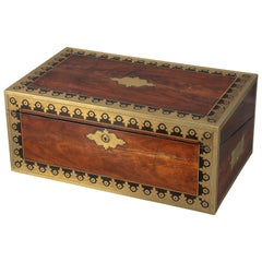 Early 19th Century Campaign Traveling Desk of Exceptional Quality