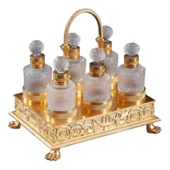 Early 19th Century Charles X Perfume Cellar