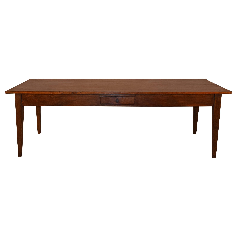 Early 19th Century Chestnut Farm Table