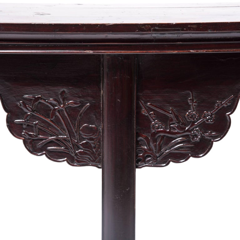 Early 19th Century Chinese Eight Dragons Flanked Altar Table For Sale 2