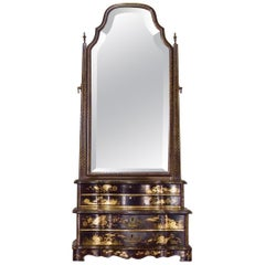 Early 19th Century Chinese Export Dressing Table Mirror