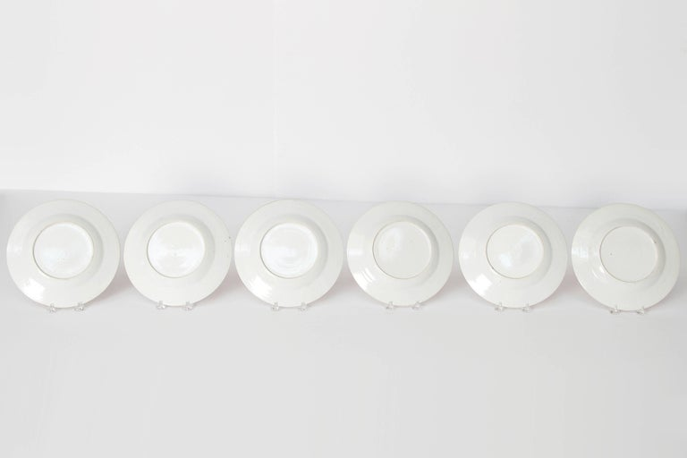 Early 19th Century Chinese Porcelain Plates Set of Six 11
