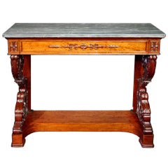 Early 19th Century circa 1830 Neoclassical Style Console