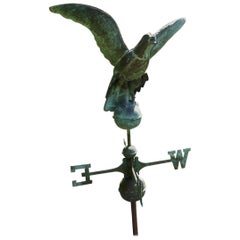 Early 19th Century Copper Eagle, Weather Vane