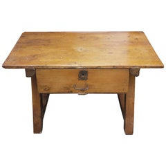 Early 19th Century Country Console Coffee Table