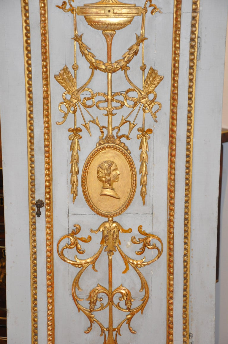 Early 19th Century Danish Neoclassical Longcase Clock In Good Condition For Sale In Essex, MA