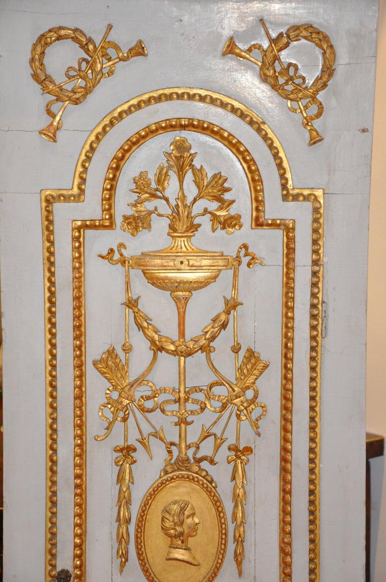 Early 19th Century Danish Neoclassical Longcase Clock For Sale 4