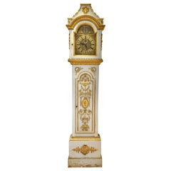 Early 19th Century Danish Neoclassical Longcase Clock