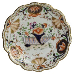 Early 19th Century Desert Dish Porcelain finely Hand Painted, Staffordshire, UK