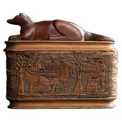 Early 19th Century Dog Snuff Box