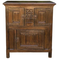 Early 19th Century Dutch Gothic Cabinet