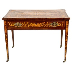 Early 19th Century Dutch Marquetry Center Table