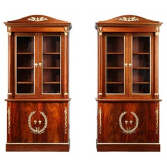 Early 19th Century Empire-Style Bookcases by Maison Jansen