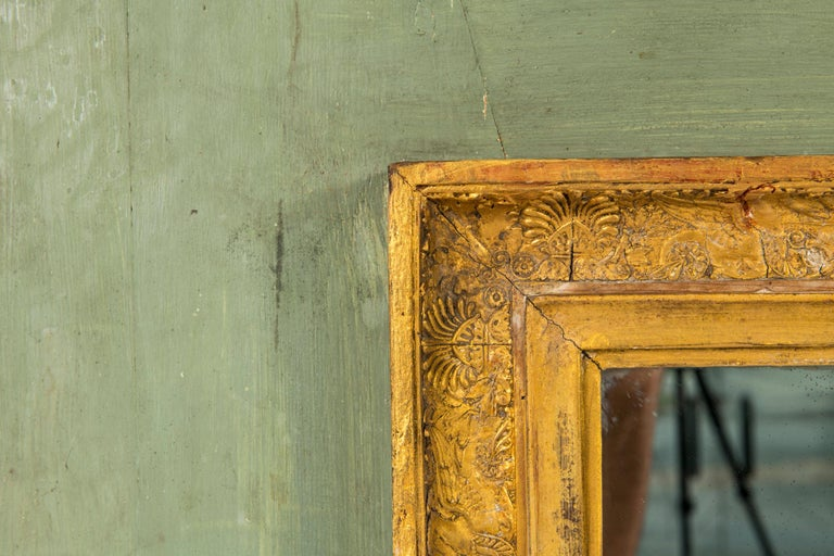 Early 19th Century Empire Trumeau Mirror In Excellent Condition For Sale In Houston, TX